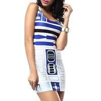R2D2 [STAR WARS] Ladies Women's Costume Dress [Fits UK 8-10+]