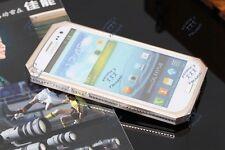 Luxury Aluminum Metal Carbon Fiber Cover Case For Samsung Galaxy S 3 III i9300