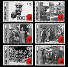 Gibraltar  2014   begin van 1e Wereldoorlog  WWI       postfris/MNH