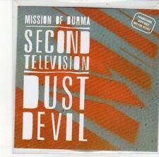 (DK221) Mission of Burma, Second Television - 2012 DJ CD