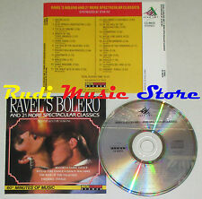 CD RAVEL'S BOLERO AND 21 SPECTACULAR CLASSICS blue danube can can lp mc dvd vhs