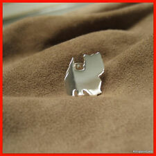 West Highland Terrier, Pin / Anstecker in 925er Silber, NEU