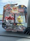 Bakugan Vs Marvel RARE Titanium Dragonoid Vs. Wolverine !! New In Box For Sale