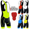 Mens Cycling Bib Shorts Front Bib Tights Bicycle Cycle Shorts Anti- Bac Padding