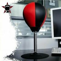 Boxing Punching Bag Speed Ball Desk Desktop Training Sparring Stress Release
