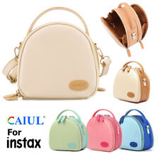 Universal PU Leather Camera Case Bag for Fujifilm Instax Mini 8 9 11 Polaroid HP