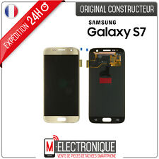 Ecran LCD Gold Original Samsung Galaxy S7 G930F + adhésif