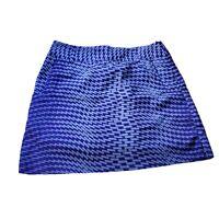 Womens Adidas ClimaCool Athletic Skirt Skort Tennis Golf Purple White Size 2 EUC