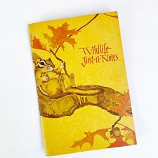 Vtg Current Wildlife Just A Notes Stationery Letters Complete Set Linda Powell