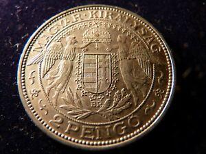 Ungarn 1 Silbermünze 2 Pengo (2)