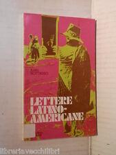 LETTERE LATINO AMERICANE Juan Bottasso Elle di ci Parametri 1974 libro romanzo