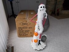 RARE Disney Santa Jack Skellington Nightmare Before Christmas Big Fig Figure NEW