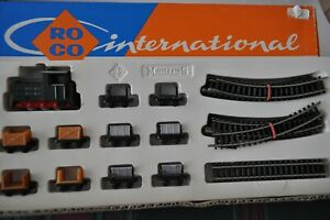 ROCO 4001 HOe - Narrow Gauge Railway Set w/Diesel & 10 Cars & Track - NEW w/Box