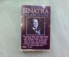 Vintage Frank Sinatra this love of mine 1984 cassette tape