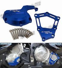 Blu Motore Statore Copertura Protezione Per BMW HP4 S1000R S1000RR S1000XR K46