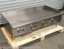 "NEW 48"" Griddle Gas Atosa ATMG-48 #2551 Commercial Restaurant Plancha Flat Top"