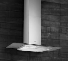 Elica Crystal 60 60cm Flat Glass Stainless Steel Chimney Hood