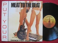 PUT YOUR MEAT TO THE BEAT~BOOGIE DOWN (1988) ROCK-CANDY ELECTRO FUNK SOUL LP EX