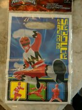 New Power Ranger Party Loot Goody Treat Bags 8 count