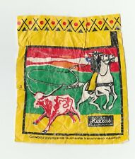 Hellas Finland Cowboys & Indians Wax chewing gum wrapper #2 cowboy lassoing