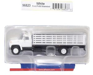 "1/87 HO Scale Athearn ""Ford F-850 Stakebed"" Undecorated NIB"