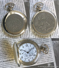 MOLNIJA 3602 Taschenuhr SAGENHELD ILJA MUROMEZ russian mechanical pocket watch