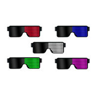 NEW! LED Flashing Light Up Sports and Raver Sunglasses with LED Lights! Gift