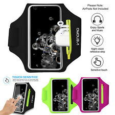 Armband Gym Running Jogging Arm Band Phone AirPods Holder Bag For iPhone Samsung