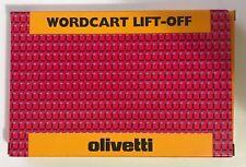 WORDCART LIFT OFF X ET2000-ETV2700  originale olivetti  80673 7873663