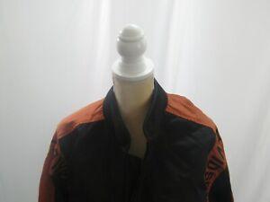 Harley Davidson Mens Nylon Bomber Jacket Size L