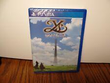 YS Origin PsVita Games Y's PlayStation Vita New Sealed Limited Run Promo Rare!