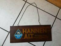 Hannen Alt -   Zapfhahnschild - Plastik-  14x34 cm groß/lang...älter