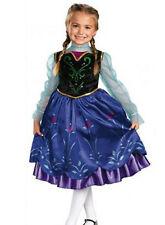 Frozen Disfraz de Princesa Elsa Anna Azul Negro Niña Fiesta Disfraces Navidad