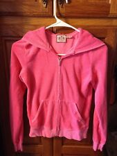 Juicy Couture Women's Pink Hoodie In Size Small