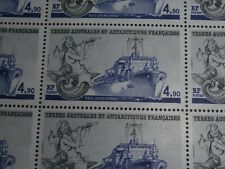 25 TIMBRES TAAF FEULLE COMPLETE B.A.P. JULES VERNE FACIALE 18,67 €