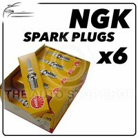 6x NGK SPARK PLUGS Part Number C6HSA Stock No. 3228 New Genuine NGK SPARKPLUGS