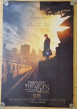 FANTASTIC BEASTS & WHERE TO FIND THEM Double Sided Authentic Movie Poster 27x40