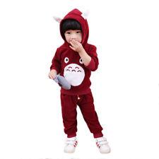 2 piezas Bebés Niños Infantil Bebé Niña Niño Sudadera Con Capucha Camisas Tops