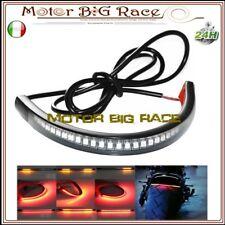 Fanale Stop Frecce Moto Cafe Racer LED Striscia Flessibile Adesiva M31