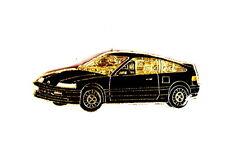 AUTO Pin / Pins - HONDA CRX schwarz (1324)