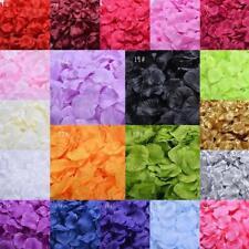200-1000 Pcs Faux Fleurs Soie Rose Pétales Table De Mariage Confetti Decor