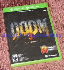 Doom 3: BFG Edition includes Poster! (Xbox 360+One) BRAND NEW & SEALED Free Ship