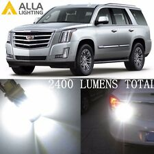Alla Lighting White Back-Up Light 7440 39-LED Bulbs Reverse Lamps for Cadillac