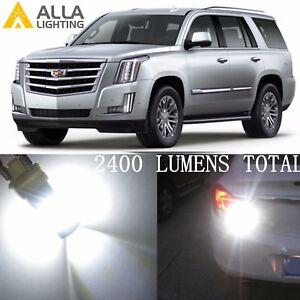 Alla Lighting White Back-Up Light 7440 39-LED Bulbs Reverse Lamps for Cadillac