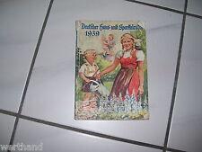 Kalender 1939  Deutscher Haus- und Sparkalender