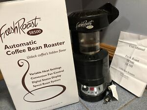 Fresh Roast SR500 Automatic Coffee Bean Roaster Household Countertop WORKING