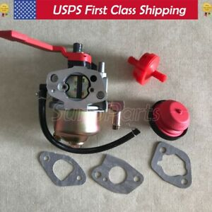 Carburetor Carb for MTD model # 31A-2M1E706 21'' 123cc snowblower