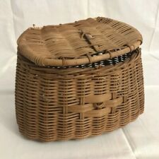 New listing Vintage Wicker Fly Fishing Creel