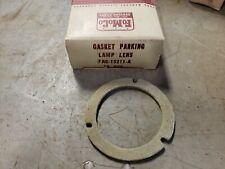Pair NOS OEM Parking Light Lens Gaskets 1955 1956 Thunderbird 1954 Ford Seals