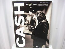 Johnny Cash American III: Solitary Man Piano Vocal Guitar Sheet Music Song Book